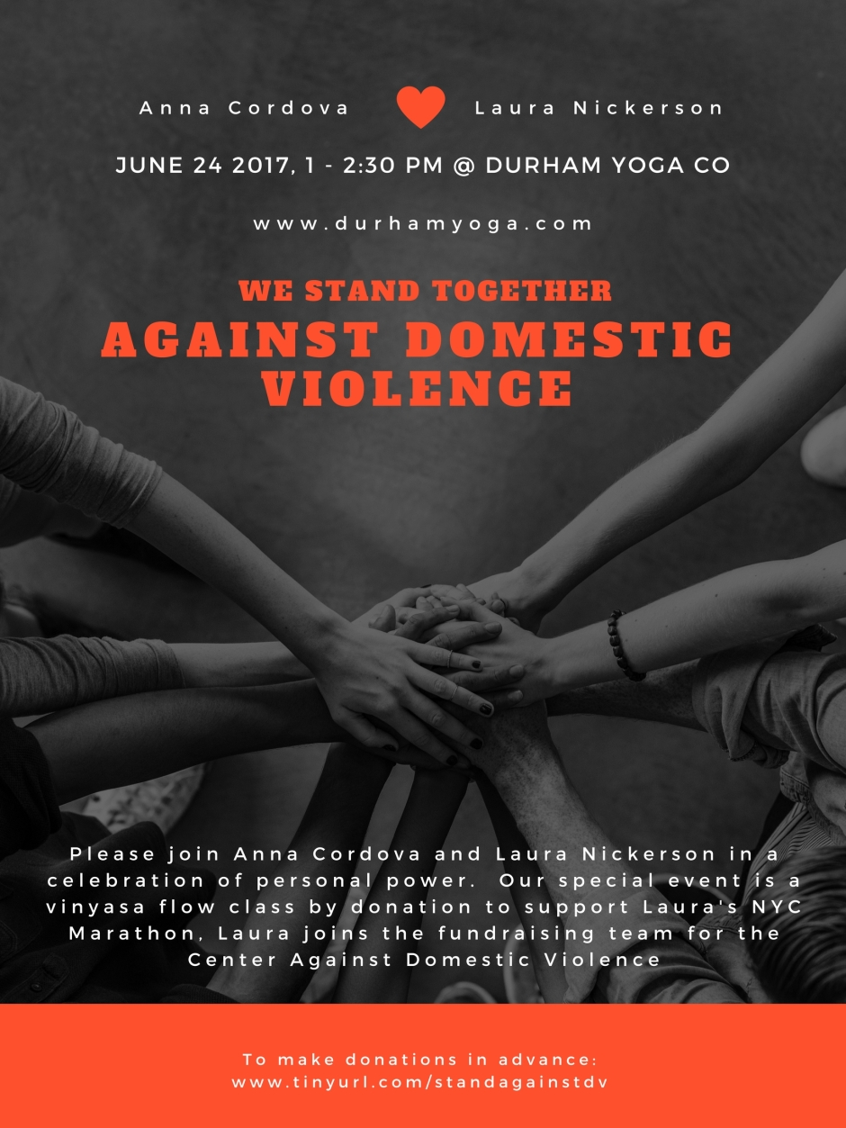 against domestic violence poster